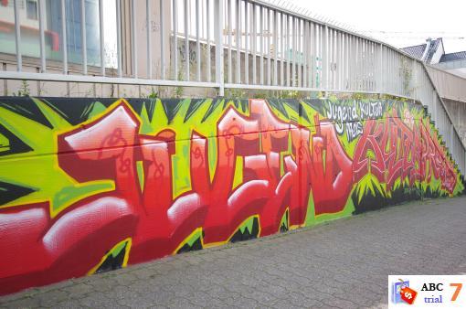 Q1 Graffiti Workshop zum SEE YOU-Festival 2014